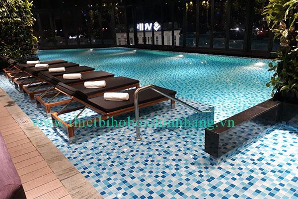 Thiết kế - thi công hồ bơi và bể tràn công trình Vinpearl Huế, Tp.Huế - Tập đoàn Vingroup