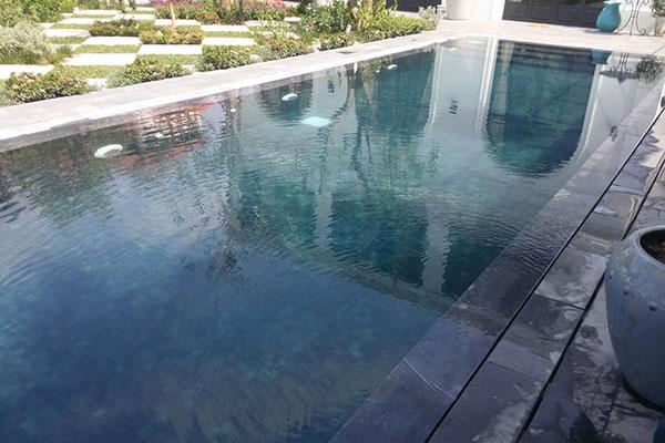 Thi công hồ bơi biệt thự chị Hương tại Thảo Điền 2 - Quận 2 - Tp.HCM