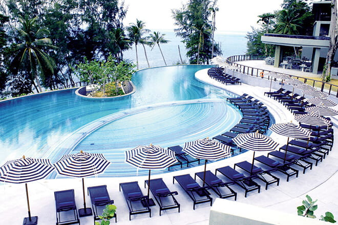 Giải pháp cho hồ bơi resort