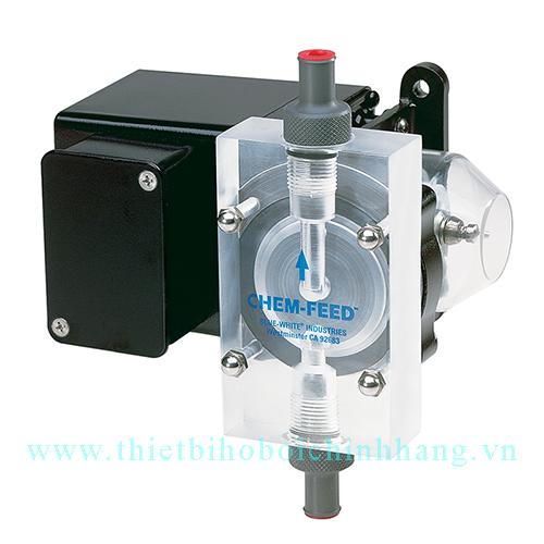 Bơm định lượng hóa chất C6250HV lưu lượng 100 lít/h hãng Blue-White nhập khẩu từ USA